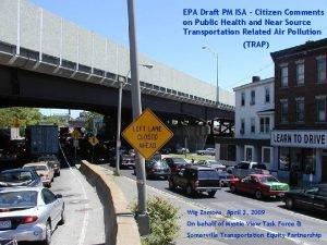 EPA Draft PM ISA Citizen Comments on Public