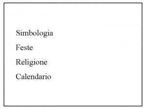 Simbologia Feste Religione Calendario Calendario Repubblica no Matematico