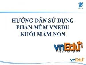 HNG DN S DNG PHN MM VNEDU KHI