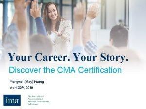 Your career Your story Your Career Your Story