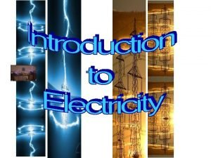 Electrical Energy Storage We can store electric energy