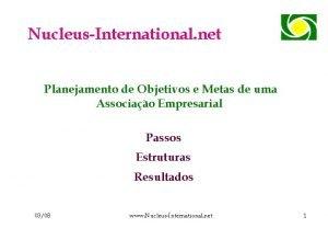 NucleusInternational net Planejamento de Objetivos e Metas de