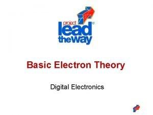 Basic Electron Theory Digital Electronics Basic Electron Theory