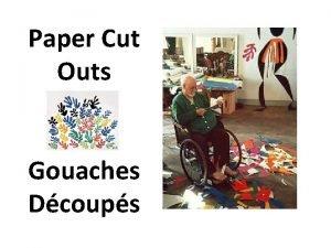 Paper Cut Outs Gouaches Dcoups Paper Cut Outs