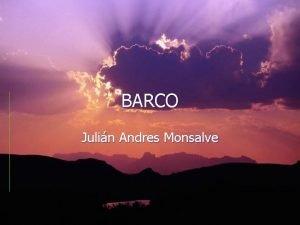 BARCO Julin Andres Monsalve ORGENES Las sociedades primitivas