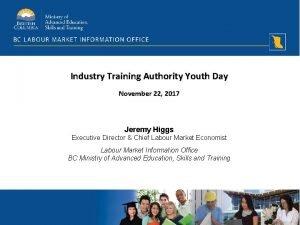 Industry Training Authority Youth Day November 22 2017
