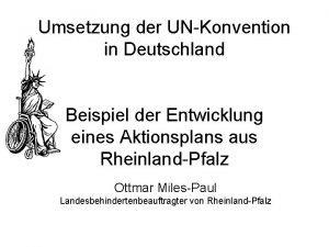 Umsetzung der UNKonvention in Deutschland Beispiel der Entwicklung