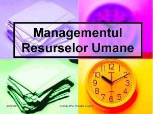 Managementul Resurselor Umane 23 02 2021 Chisinau 2012