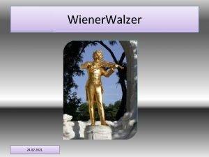 Wiener Walzer 24 02 2021 Eiernockerln Als eines