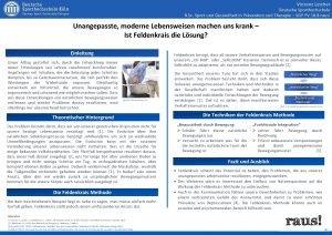 Intervention zur Reduktion von stressbedingten Vinzenz Leicher Deutsche