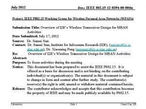 July 2012 doc IEEE 802 15 12 0394