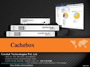 Cachebox Conduit Technologies Pvt Ltd Office No 502