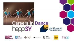 Careers in Dance Skills developed in Dance ability