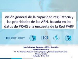 Visin general de la capacidad regulatoria y las