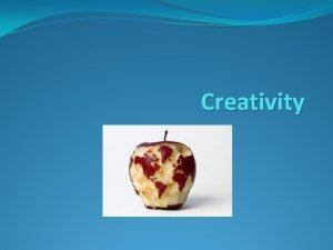 Creativity Creativity Capital isnt so important in business