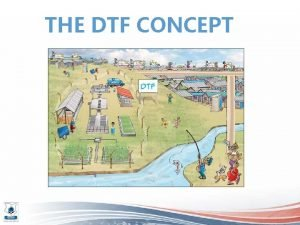 THE DTF CONCEPT WHAT IS A DTF Decentralised