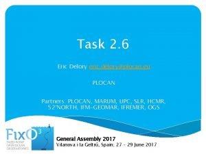 Task 2 6 Eric Delory eric deloryplocan eu