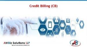 Credit Billing CB Credit Billing Credit Billing application