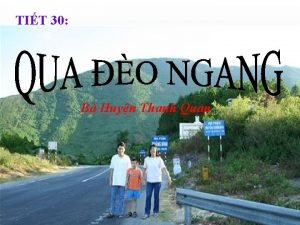 TIT 30 B Huyn Thanh Quan Quan st
