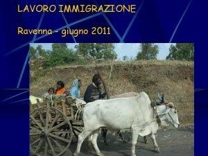 LAVORO IMMIGRAZIONE Ravenna giugno 2011 le definizioni Discriminazione