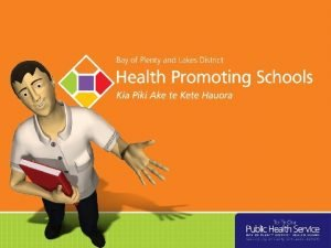 What is a Health Promoting School Health Promoting