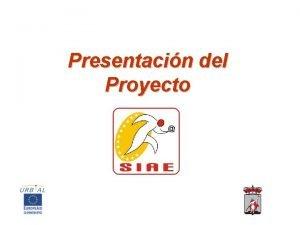 Presentacin del Proyecto Ttulo del proyecto 2 SERVICIOS