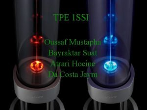 TPE 1 SSI Oussaf Mustapha Bayraktar Suat Atrari