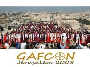 Three Myths of GAFCON Three Myths of GAFCON