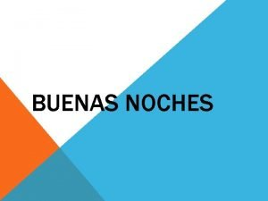 BUENAS NOCHES EXPOSITORA DAMARYS FLOREZ TARAZONA Tema Conciliacin