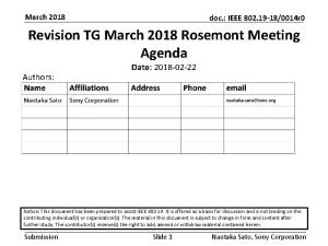 March 2018 doc IEEE 802 19 180014 r