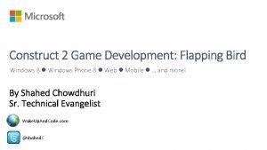 Windows 8 Windows Phone 8 Web Mobile and