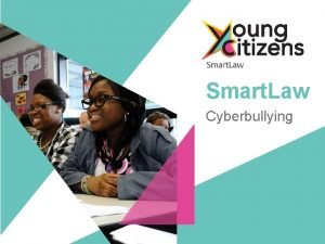 Smart Law Cyberbullying Cyberbullying Lesson Objectives By the
