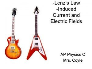 Lenzs Law Induced Current and Electric Fields AP