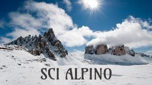 SCI ALPINO La Storia dello Sci I popoli