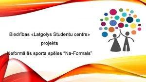 Biedrbas Latgolys Studentu centrs projekts Neformls sporta sples