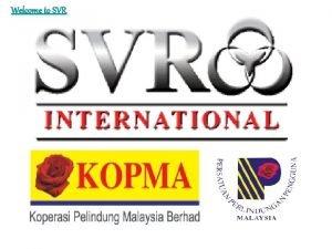 Welcome to SVR www svr 2 u com