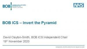 BOB ICS Invert the Pyramid David ClaytonSmith BOB