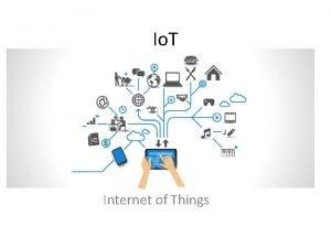 Io T Internet of Things Introduzione Per internet