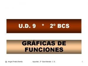 U D 9 2 BCS GRFICAS DE FUNCIONES