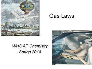 Gas Laws WHS AP Chemistry Spring 2014 Elements