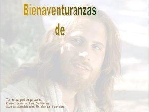 Texto Miguel ngel Mesa Presentacin M Asun Gutirrez