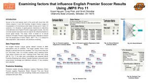 Examining factors that influence English Premier Soccer Results