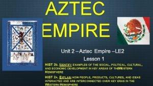 AZTEC EMPIRE UNIT 2 AZTEC EMPIRE LE 2