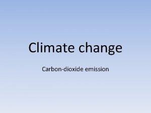 Climate change Carbondioxide emission Cow emissions more damaging