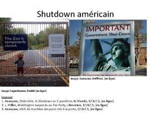 Shutdown amricain Image Anonyme Huff Post en ligne