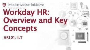 Workday HR Overview and Key Concepts HR 101
