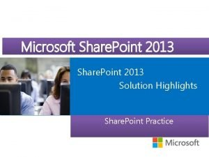 Microsoft Course Microsoft Official Share Point 2013 Share