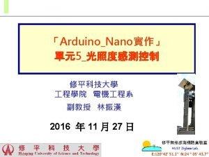 Arduino Nano MCUATmega 328 ArduinoAD Arduino ADC Arduino