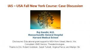 IAS USA Fall New York Course Case Discussion