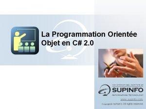 La Programmation Oriente Objet en C 2 0